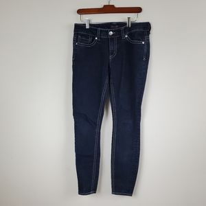 Seven7 Skinny Ankle Cropped Jeans